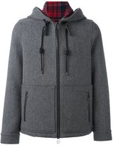 Lanvin casual zipped hooded jacket