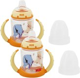 NUK Disney Winnie the Pooh 5 Ounces Learner Cup Silicone Spout, 6+ Months, 2 ...