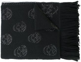Alexander McQueen skull embroidered scarf - women - Silk/Wool/Metallic Fibre - One Size