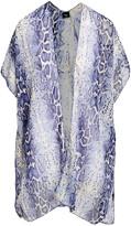 Lvs Collections LVS Collections Women's Kimono Cardigans NAVY - Navy Snake Kimono - Women