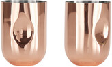 Tom Dixon Plum Moscow Mule Copper Mug - Set of 2