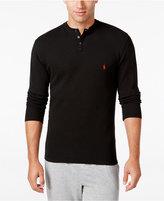 Polo Ralph Lauren Men's Solid Thermal Henley Top