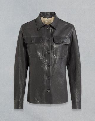 Belstaff Mila Leather Shirt