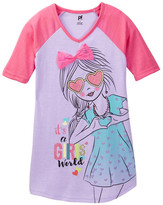 Petit Lem It&s a Girl&s World Nightgown (Little Girls & Big Girls)