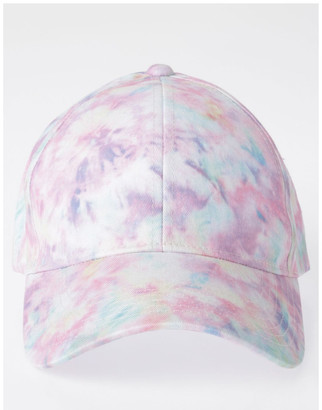 Miss Shop Pink Tie-Dye Cap