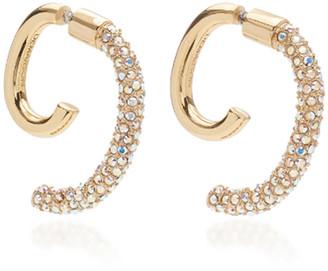 DEMARSON Convertible Pave Luna Earrings