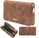 Aitbags Clutch Wallet for Women Zipper Long Purse for Checkbook