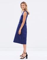 Oasis 2 In 1 Lace Trim Midi Dress