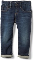 Gap Stretch soft + lined straight jeans