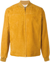 Loro Piana suede bomber jacket - men - Cotton/Leather/Polyester - M