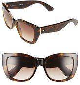Kate Spade Women's 'Andris' 54Mm Sunglasses - Havana