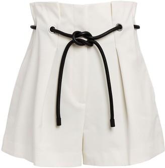 3.1 Phillip Lim Ivory Origami Shorts