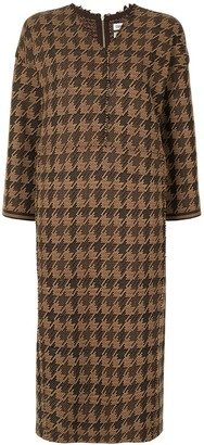 Coohem Gun Club tech tweed dress