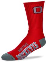 For Bare Feet Adult Ohio State Buckeyes Team Color Crew Socks