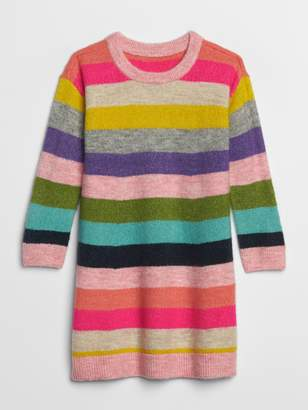 Gap Toddler Crazy Stripe Sweater Dress
