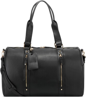 Sole Society Abra Faux Leather Duffle Bag