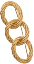 Christian Dior 1980s pre-owned Love Knot brooch