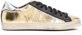 P448 John metallic colour-block sneakers