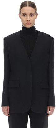 The Row Murray Soft Wool & Silk Jacket