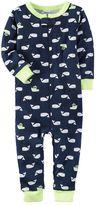 Carter's Toddler Boy Print One-Piece Pajamas