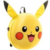 Nintendo Official Pokemon 3D Pikachu Character Moulded Backpack School Bag - Go