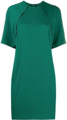 Victoria Victoria Beckham Shift Dress With Split Back