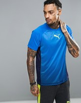 Puma Vent Short Sleeved T-shirt In Blue 51458005