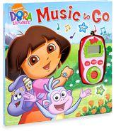 Bed Bath & Beyond Play-a-Sound® Dora the ExplorerTM Music to Go Digital Music Player Book