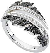 Stephen Webster White Gold Magnipheasant Pavé Diamond Split Ring