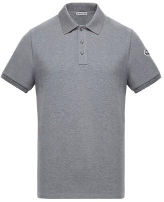 Moncler Under-Collar Logo Polo Shirt