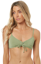 rhythm Sunchaser Lace Up Separate Top Green