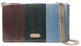 Nina Ricci Snake-Effect Leather Clutch