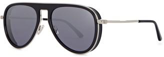 Jimmy Choo Carl aviator-style sunglasses