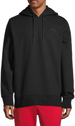 Y-3 Graphic Stretch-Cotton Hoodie