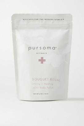 PURSOMA Body Bouquet Ritual Soothing Healing Jasmine Body Polish, 113g