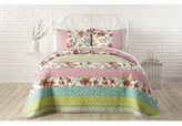 Jessica Simpson Boho Garden Cotton King Quilt
