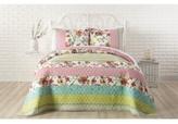 Jessica Simpson Boho Garden Cotton King Quilt