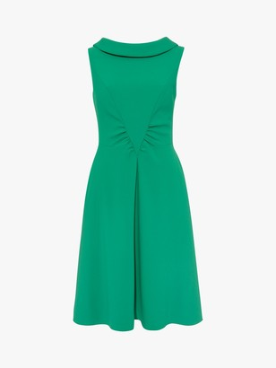 Damsel in a Dress Charly Ruched Dress, Green