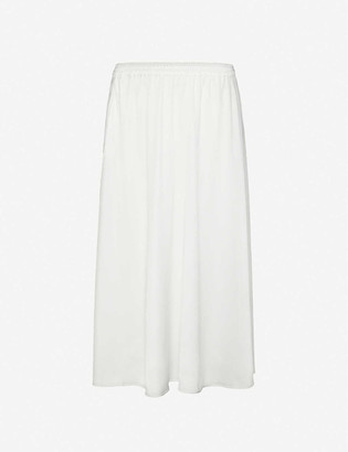 Designers Remix Kacy high-waisted woven maxi skirt
