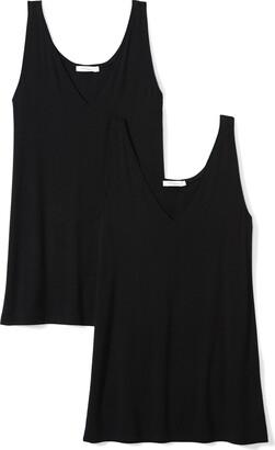 Daily Ritual Amazon Brand Jersey V-Neck Tank T-Shirt