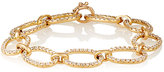 Irene Neuwirth Diamond Collection Women's White Diamond Oval-Link Bracelet