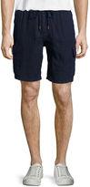Vilebrequin Solid Linen Cargo Shorts