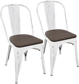 Lumisource Set Of 2 Oregon Dining Chairs