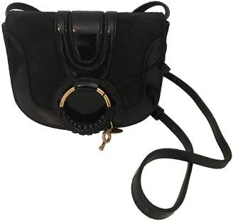 See By Chloã© See By ChloA Blue Suede Handbags
