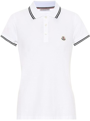 Moncler Cotton-pique polo shirt