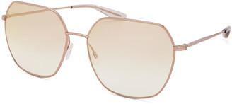 Barton Perreira Sotera Sun Titanium Square Sunglasses