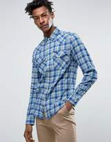 Lee Western Slim Fit Shirt Twill Check