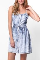 Paper Crane Chambray Dress
