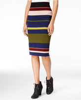 Rachel Roy Striped Midi Skirt, Only at Macy's