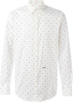 DSQUARED2 maple leaf shirt - men - Cotton - 46